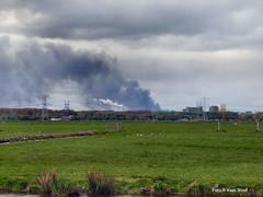 Fire in the Western Harbor Area, 22-4-2017 (kees.stoof) Tags: amsterdam fire west harbor area brand westelijkhavengebied westpoort noord