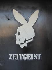 Zeitgeist stencil, San Francisco (duncan) Tags: graffiti sanfrancisco zeitgeist stencil