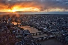 Look West (Nige H (Thanks for 8m views)) Tags: nature landscape cityscape city london sunset river riverthames bridges sky cloud england uk urban