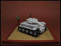 Tyger Mk 1.a.B (Karf Oohlu) Tags: lego moc microscale afv tank mbt notatigermk1 turret tracks