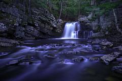 Ettinger Falls, Nova Scotia (al_aw20) Tags: waterfall nova scotia slow exposure canada rocks water