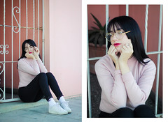 Soft Vibes~ (cherrywavess) Tags: pale pastel lightpink aesthetic aesthetics pastels colors colorful pink portrait fashion fashionportrait fashionphotoshoot kfashion koreanfashion asianfashion glasses retrato chile photoshoot photobook streetfashion streetshot streetswear style kstyle kpop idol ulzzang beauty beautiful outfit outdoor outside canon viñadelmar chileanmodel model modeling modelo moda modelochilena