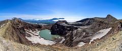 Панорама одного из кратеров вулкана Горелый (alex.eganov) Tags: kamchatka вулканы горелый камчатка мутновский панорамы nikond750 samyang14mmf28 russia far east mountains