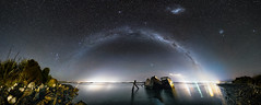 The Bluff Shipwrecks (Jaims Gibson) Tags: astrophotography night stars milky way new zealand bluff shipwreck sea jamesgibsonphotography