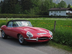E Type (SkylineGTR) Tags: car bayern bavaria jaguar schliersee img8175
