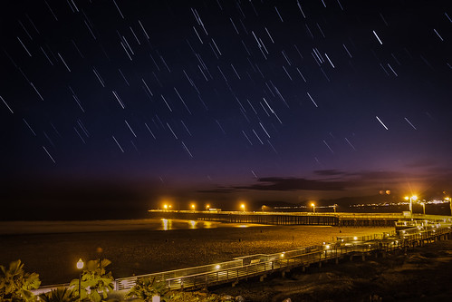 It's raining Stars on Pismo Beach