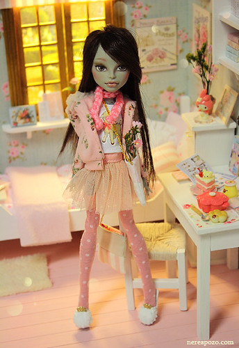 Meresa - ooak custom Monster high