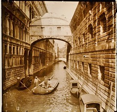 Italy, Bridge of Sighs Venice c1910 r (AndyBrii) Tags: camera italy stereo richard 1910 viewer slides 1908 transparencies verascope taxiphote