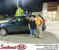 Southwest KIA of Rockwall would like to wish a Happy Anniversary to Blaine Danyluk on your 2011 Kia Sorento (Southwest Kia Rockwall) Tags: new southwest car sedan truck wagon happy dallas texas tx used vehicles mesquite bday dfw kia van suv coupe rockwall dealership hatchback dealer customers minvan 4dr metroplex shouts 2dr preowned