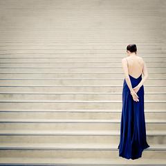 26 :: 31 (sweethardt) Tags: sanfrancisco portrait woman selfportrait female stairs self back long alone photographer dress formal bayarea brunette gown maxi floorlength sweethardtphotography ©2013jenniferhardt