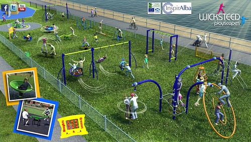 artists impression campbeltown playpark