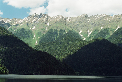 Lake Rizza, Abkhazia