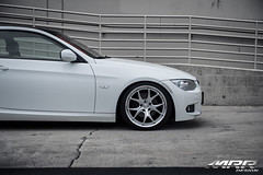 BMW_328i_MRR_GT8_WHEELS_HS_03 (MRR WHEELS) Tags: white silver wheels tires bmw rims e90 328i