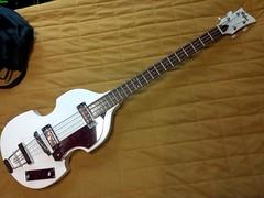 Hofner Beatle Bass 1b (LoxPix) Tags: kent bass guitar workinprogress rick mandolin fender beatle crown custom gibson squire hofner epiphone fernandes teisco bowhunter