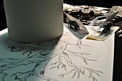 The tattoo (Despina Titoni) Tags: art tattoo paint needle