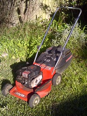 24 years old and not going strong ... (highplains68) Tags: sydney australia nsw newsouthwales lawnmower aus
