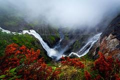 Vringsfossen (B.AA.S.) Tags: nature norway landscape norge waterfall natur foss hordaland landskap vringsfossen eidfjord mbdalen universeofphotography