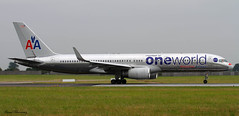 American Airlines (Oneworld livery) 757-200 N174AA (birrlad) Tags: ireland dublin airplane airport aircraft aviation airplanes airline airways airlines runway dub airliner