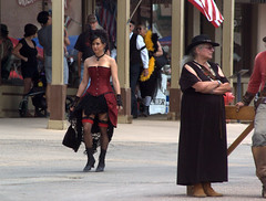 (ONE/MILLION) Tags: road old trip travel costumes girls vacation arizona people music men women flickr downtown day photos fb famous watch tombstone young hats visit historic wear western guns characters tours saloon facebook onemillion gunfights williestark