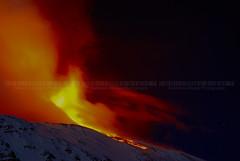 Flaming night (Vulcanian) Tags: clouds volcano explosion explore crater ash sulfur etna eruption catania cratere cenere colata eruzione crateri paroxysm colatalavica schienadellasino parossismo crateredisudest craterisommitali newsoutheastcrater