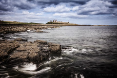 Dunstanburgh Castle (Damon Finlay) Tags: travel summer england seascape castle tourism canon landscape ruins historic northumbria efs dunstanburgh efs1022mm dunstanburghcastle canon60d