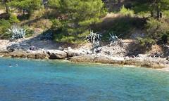 Rocks at Grandovac (JohnnyHamster) Tags: croatia naturist vis fkk otok grandovac