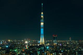 Tokyo Sky Tree - from Hotel Levant Tokyo