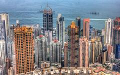 Skyscrapers of Hong Kong