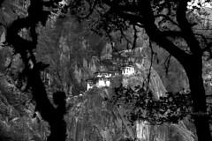 The Tiger's Nest (karmajigme) Tags: temple nikon asia bhutan monastery taktsang paro himalaya bhoutan d700