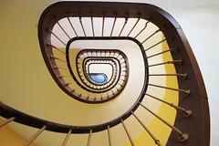 Trappenhuis in alle 4 de hoeken - Explore 486 (Olga and Peter) Tags: france staircase frankrijk godin guise trappenhuis familistère gimg9402