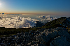 An evening light and cloud 2 (Yoshia-Y) Tags: sunset clouds tateyama