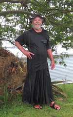 Out in the rain 002. (Jack Williams) Tags: newzealand wet rain freestyle auckland nz meninskirts wetlook wetfun skirted menstuff wetguy