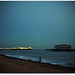 Brighton Pier and West Pier