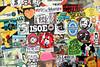 stickercombo (wojofoto) Tags: amsterdam streetart stickers stickercombo stickerart sticker ndsm wojofoto wojo ln reribs isoe