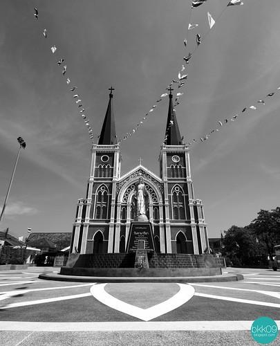 The Catholic Church, Chanthaburi | อาสนวิหารพระนางมารีอาปฏิสนธินิรมล