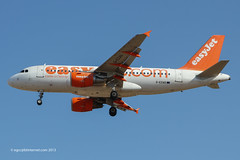 G-EZAO - 2006 build Airbus A319-111, on approach to Runway 24L at Palma (egcc) Tags: airbus mallorca palma easyjet majorca a319 pmi 2769 ezy lepa a319111 comeonletsfly gezao