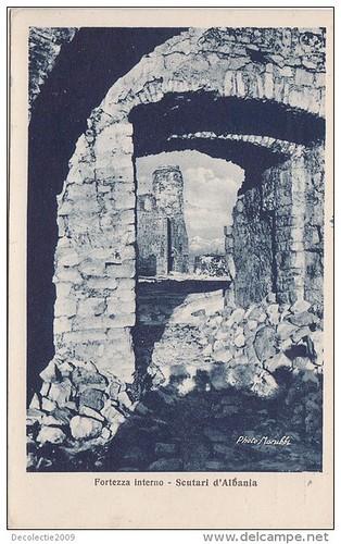 Шкодер, Shkodër, Shkodra, Scutari, Skadar, Cкадар. Kalaja e Rozafatit. Foto Marubi. The citadel. La citadelle. La ciudadela. La ciutadela. La fortezza.