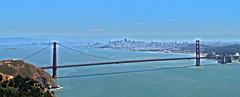 Golden Gate Bridge - Golden Gate National Recreation Area - California - 25 May 2013 (goatlockerguns) Tags: sanfrancisco california park bridge usa west nature water bay marin scenic engineering goldengatebridge hdr highdynamicrange goldengatenationalrecreationarea