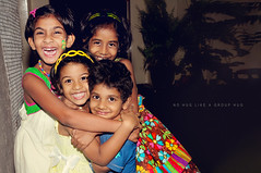 Group Hug (Juavenita ) Tags: smile kids fun happy grouphug