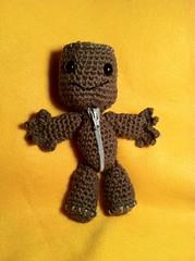 Crochet (Yarnigurumi) Tags: nintendo videogame amigurumi littlebigplanet sackboy