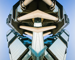 Transformer (Hong Kong Eye) Tags: reflection glass buildings hongkong skyscrapers transformer steel mirrorimage absract lippocentre 2014 sigma1224 garyjones nikond800