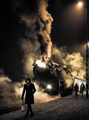 Commuting Home (Kingmoor Klickr) Tags: poland polska pkp wielkopolska wolsztyn leszno ol49 włoszakowice wolsztynexperience mainlinesteam ol4959 wloszakowice kolejewielkopolskie