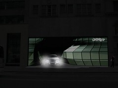 Audi Flyer 05 Proposal (2010). Render: Courtesy Klingmann Architects