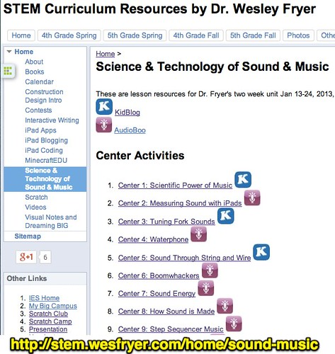 Science & Technology of Sound & Music - by Wesley Fryer, on Flickr