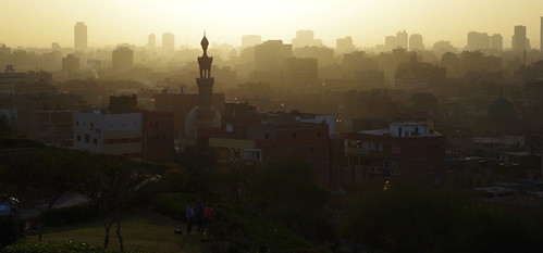 Smoggy Cairo Sunset
