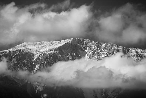 blackandwhite landscape austria schwarzweiss landschaft schneeberg