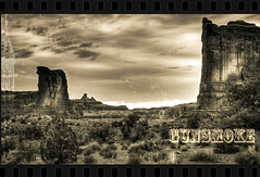 Gunsmoke (Steve Corey) Tags: desert explore western wildwest misskitty gunsmoke mattdillion westernmovies highchapparal oldwesternshows