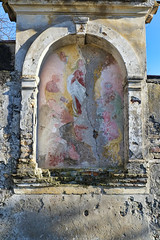 Icon (Artico7) Tags: old italy painting saints icon devotion sacred scraped nich ruined friuli varmo
