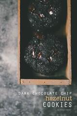 dark chocolate chip hazelnut cookies (abrowntable) Tags: cookies baking bake abrowntable food foodphotography dessert sweet cookie biscuit biscuits cocoa chocolate hazelnut meal hazelnuts hazelnutmeal eggs glutenfree brownedbutter
