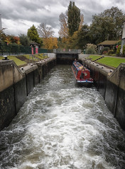 In Marlow Lock..River Thames (lovestruck.) Tags: uk england water thames river geotagged lock chloe narrowboat marlow geo:lat=51567342197405196 geo:lon=07691556215286255